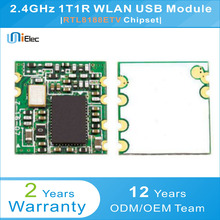 Realtek RTL8188ETV 150Mbps 2.4GHz wireless WLAN USB Module RTL8188 PCBA Windows XP Linux Android IOS WIN7 WiFi Board(China)