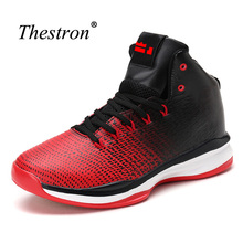 Thestron Mens Brand Sneaker Shoes Men Cool Basketball High Top Shoes Men Quality Mens Sneakers For Basketball Sport(China)