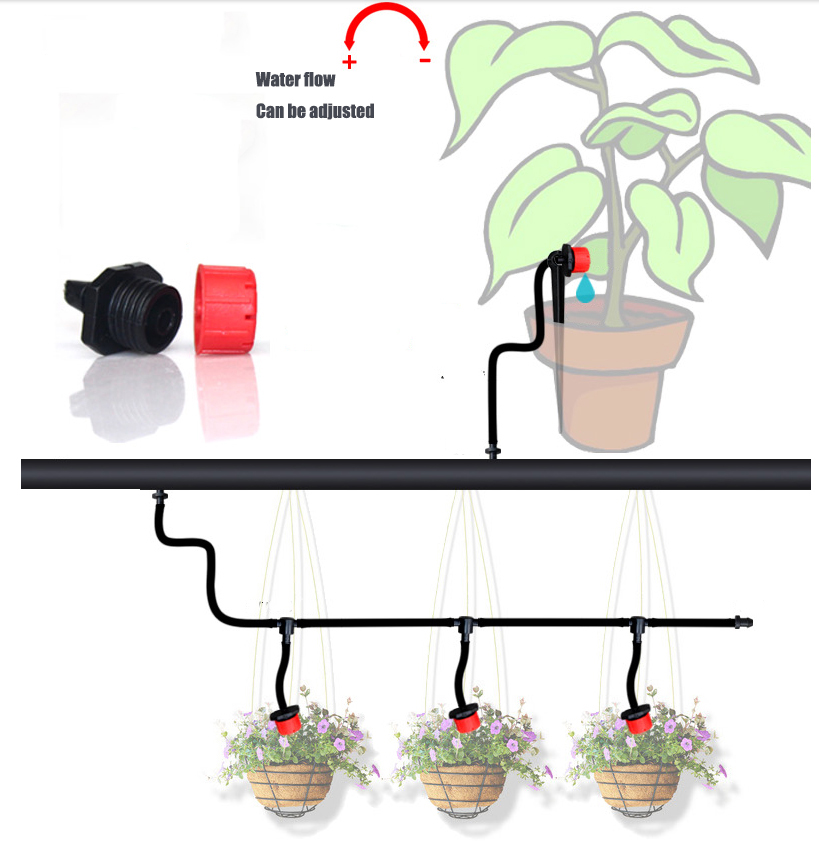 2018 10m Diy Micro Drip Irrigation System Plant Self Automatic