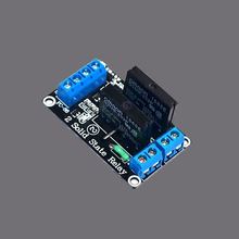 Sindax 1pcs 5v 2 Channel OMRON SSR G3MB-202P Solid State Relay Module For Arduino Z3(China)