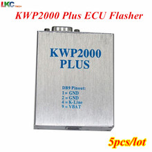 5pcs/lot DHL Free KWP 2000 OBD2 OBDII Plus ECU Flasher ECU Chip Tunning Tool KWP2000 ECU Engine Tune Remap For Multi Brand Cars(China)