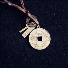 Online get cheap chinese coin jewelry aliexpress alibaba group 2017 new vintage chinese ancient coins pendant necklace women long choker necklace personality men jewelry friends gift mozeypictures Choice Image