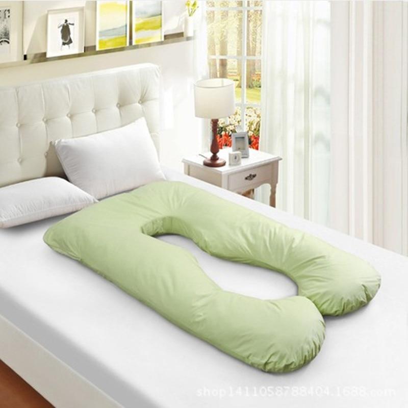 Pregnant Women Pregnant U- Pillow Comfortable Cotton Pillow Removable Prenatal And Postnatal Supplies WMC609<br><br>Aliexpress
