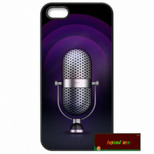 Old School Style Microphone Music Phone Cases Cover For iPhone 4 4S 5 5S 5C SE 6 6S 7 Plus 4.7 5.5   z1131