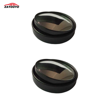2 pcs Car Blind Spot Mirrors Round Wide Angle Convex Adjustable Angle Stick On Rearview Mirror Side View(China)