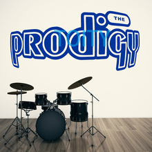 THE PRODIGY Logo Wall Decal British electronic music group Decor Graphic Vinyl Sticker Art Poster M L(China)