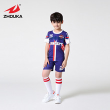Professional custom unique football uniforms soccer jerseys adult and kids(China)