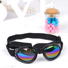 Fashion Pet Multi-Color Dog Sunglasses Waterproof Folding Eye Wear Protection Pets Cool Goggles Fit For Above 6kg Dogs F(China)
