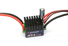 JMT Flycolor Car ESC Thunder 45A Brush Electronic Speed Controller For Racing Remote Control Model Cars Toy Truck(China)