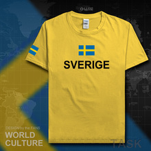 Sweden Sverige man t shirts Swedish Swede tshirt 2017 jerseys nation team t-shirt meeting fitness gyms clothing tees country SE(China)