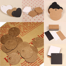 Buy 50Pcs Kraft Paper Tags Brown Lace Scallop Head Label Luggage Wedding Note DIY Blank Price Name Hang Tag Kraft Gift Crafts for $1.39 in AliExpress store