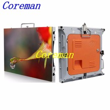 Coreman Slim Cabinet Indoor P8 SMD 3528 LED Rental Screen P10 P12 P16 P20 Outdoor Rental LED cabinet display(China)