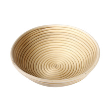 Storage Basket Round Dough Bread Proofing Pastry Tray Natural Fermentation Rattan Baskets Foods Fruits Organizer Hogard(China)