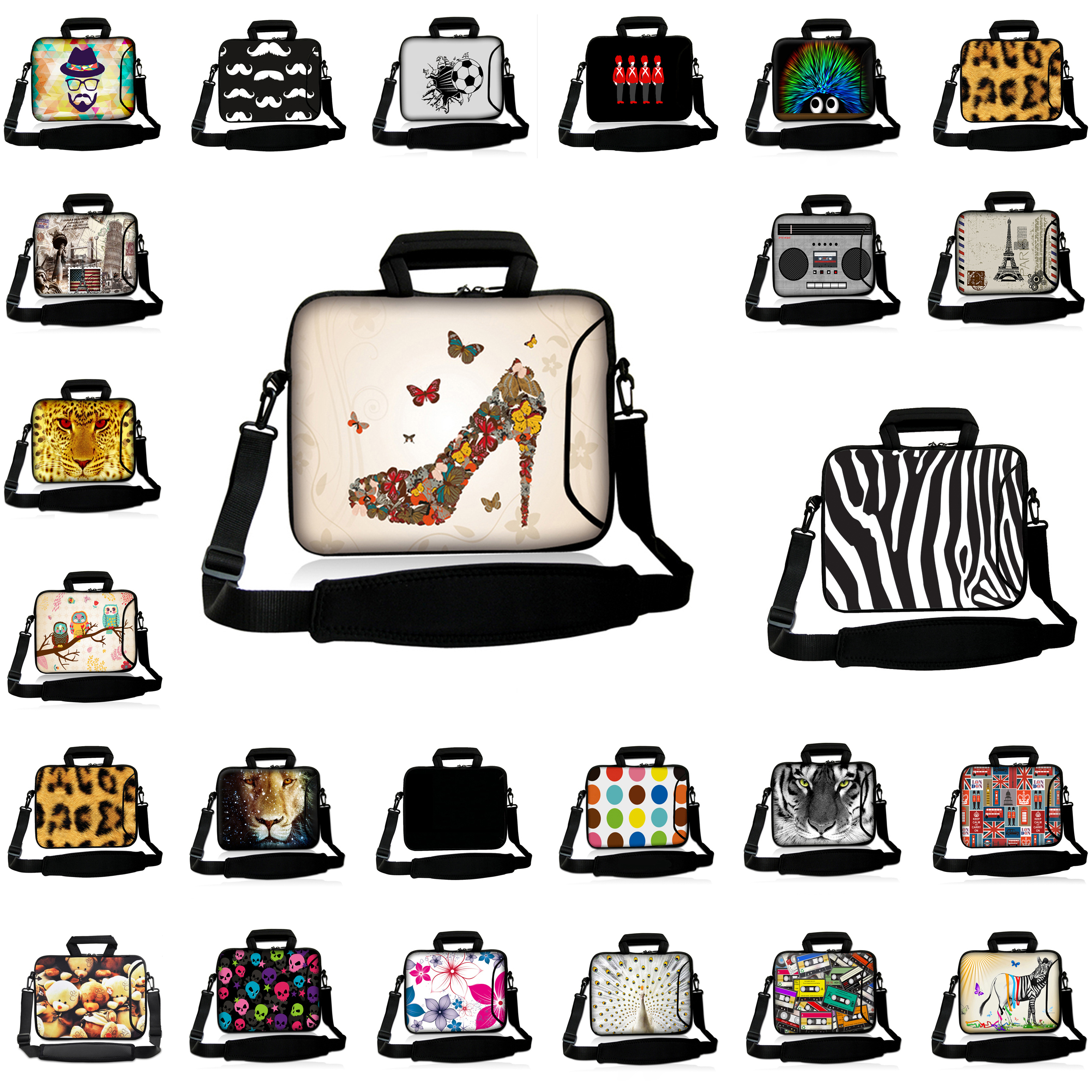 Customized 17 17.3 17.4 16.8 inch Shoulder Strap Messenger Notebook Bags For Toshiba Asus Lenovo HP Envy Fashion Laptop PC Cases<br><br>Aliexpress