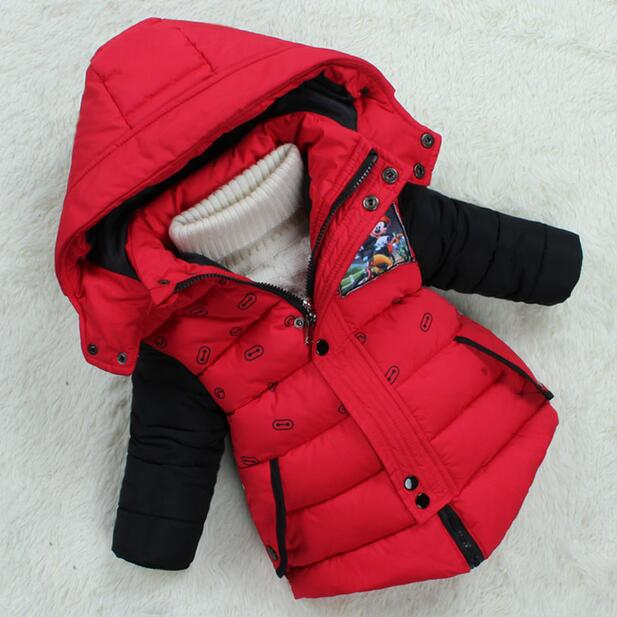 New childrens cotton hooded winter coat jacket childrens clothing and children of men and women thick down parka JUNSHANANGELОдежда и ак�е��уары<br><br><br>Aliexpress