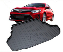 Good! Special trunk mats for Toyota Camry 2016-2012 Easy to clean durable waterproof boot carpet for Camry 2015,Free shipping