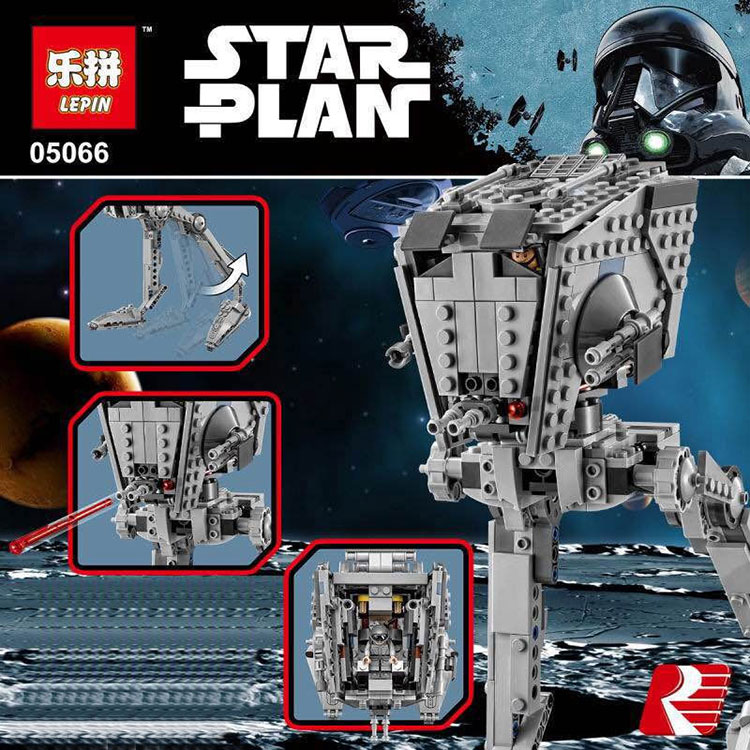 New Lepin 05066 Star Wars AT-ST Walker The Rogue One Imperial Building Blocks Bricks Educational Toys 75153<br>