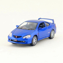 Free Shipping/KiNSMART Toy/Diecast Model/1:34 Scale/Honda Integra Type R/Pull Back Car/Educational Collection/Gift For Children