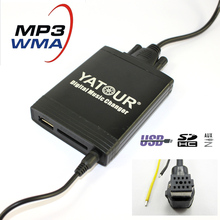 Yatour M06 For Pioneer Head units DEH-P900 KEH-P6200-W MEH-P055 DEH-88 Car USB MP3 SD AUX adapter Digital CD Changer interface(China)