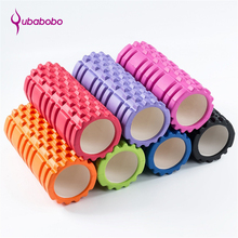 7 Colors EVA Yoga Foam Roller Floating Point Fitness Block Gym Exercises Physio Massage Pilates Tight Muscles QUBABOBO 33*15 cm(China)