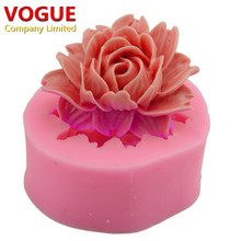 Cute Beautiful Fondant 3D Flower Cake Mold Silicone Embossing Dies Sugar Art Moule DIY Fondant Cake Decorating Tools N1791