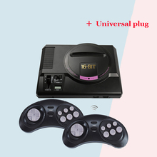 HDMI Video Game Console SEGA Genesis 18in1 free games High definition HDMI TV Out with 2.4G wireless controller+Universal plug