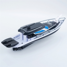 2017 New XQ TOYS RC Ship For Fishing Micro Remote Control Radio Controlled Fast Racing Speed Fishing Boat Police Ship For Gift(China)