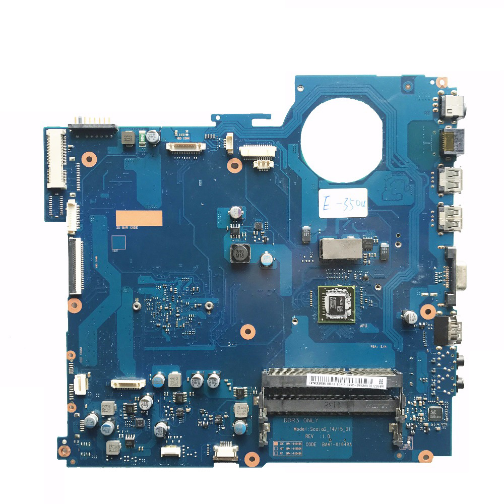 Excellent For Samsung RV515 Laptop Motherboard With E350 CPU BA92-08334A BA92-08334B BA41-01649A 100% working