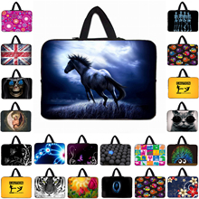 "14"" Notebook Fashion Liner Pouch Neoprene Shell Bag For Dell ASUS Acer Lenovo 14.1 14.4 Inch Laptops Mini Computer Briefcase(China)"