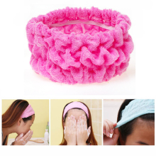 1Pc Soft Elastic Hairband Headband Girls Headwear Bath Spa Make Up Shower Hair Band Holder Hair Rope Ring Tie Hair Accessories