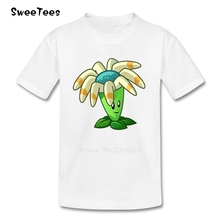 Plants Vs Zombies New T Shirt Kid Cotton Toddler Crew Neck Baby Tshirt Children Infant Tees 2017 T-shirt For Boy Girl