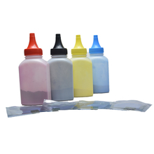 (4 bottles+4 pieces chip)Compatible refill Color Toner Powder CE310-CE313 for HP LaserJet CP1025 CP1025NW MFP M175A ect.