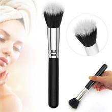 High Quality Hot Selling Portable Beauty 187 Makeup Brush Duo Fiber Stippling Liquid Foundation Powder Blush Cosmetic Tool