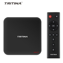 Tritina Android 6.0 TV Box Amlogic S905X Quad core 2GB 16GB Bluetooth 4.0 Dual bands WiFi 2.4Ghz/5Ghz Play Store 4K Media Player