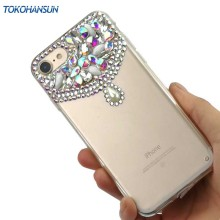 Buy Tokohansun Bling Case Iphone 8 X Cover Cases Iphone 7 6 6s Women Diamond Luxury Rhinestone Cell Phone Covers for $5.94 in AliExpress store