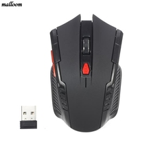 Mouse 2 Colors Battery 6 Buttons 2.4GHz Mini portable Wireless Optical Gaming Gamer Games Mouse Mice For Computer Laptop PC 1 pc