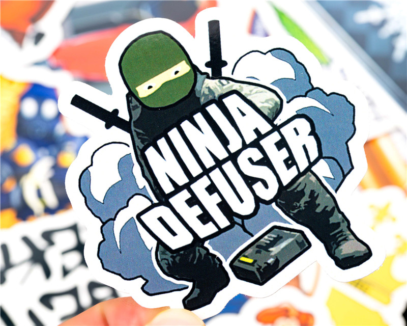30PCS Pack cs go Stickers Set Stickers For Kids Luggage Skateboard Laptop Teem Game Stickers Graffiti Funny Sticker  (16)