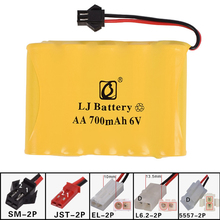 6v 700mah AA NI-CD M Battery Electric toys car ship robot rechargeable free shipping(China)