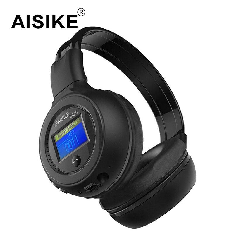 Original Zealot B570 Good quality Stereo Wireless Headset Bluetooth headphone Headband Headset with FM TF LED indicators for mp3<br><br>Aliexpress