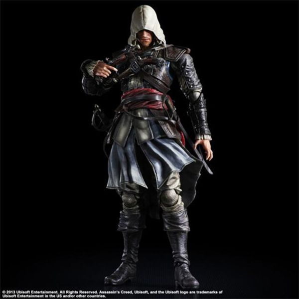 Assassins Creed Action Figure Playarts Kai Edward James Kenway Model Toys PVC 275mm Assassin Creed Edward Play arts Kai<br>