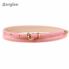 2017 Rushed Designer Thin Belts Women High Quality Luxury Brand Retro Jeans And Straps Female Decoration Ceinture Femme N056