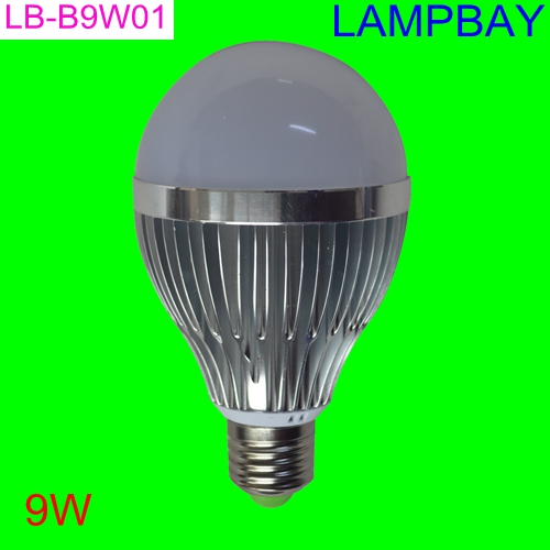 (10 Pack) Free Shipping LED Bulb 9W E27 B22 replace to 100W halogen globle bulbs high quality high lumens Aluminum lamp 85-265V<br><br>Aliexpress