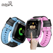 Hold Mi Q90 GPS Phone Positioning Children Watch 1.22 inch Color Touch Screen WIFI SOS Smart Watch Baby Q80 Q50 Q60 Find(China)