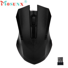 Reliable 2.4GHz Wireless Mouse 2400DPI USB Optical Scroll Mice For Tablet Laptop Computer PC(China)