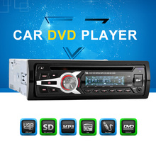 Universal Car Stereo Radio Audio Player CD DVD MP3 Player with FM Aux Input SD/USB Port(China)