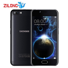 Doogee Shoot 2 Dual Rear Cameras Android 7.0 Mobile Phone MT6580A Quad Core 12GB RAM 16GB ROM Fingerprint 3G Smart Phone