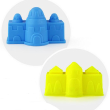 6 Pcs/set Creative Castle Sand Clay Mold Building Pyramid Sandcastle Beach Sand Toy Bath Interactive Funny Game Educational Toys(China)