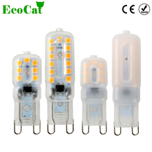 ECO Cat G9 LED Lamp 3W 5W 220V 230V 240V SMD2835 Bulb 360 Degree Lighting High Transmittance Warm/Cold White(China)