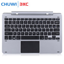 Chuwi Hi12 Multi Mode Rotary Shaft Aluminium Alloy Keyboard Magnetic Docking Pogo Pin Separable Design for Playing Game Chatting