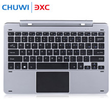 Chuwi Hi12 Multimode Rotary Shaft Aluminium Alloy Keyboard Magnetic Docking Pogo Pin Separable Design for Playing Game Chatting(China)